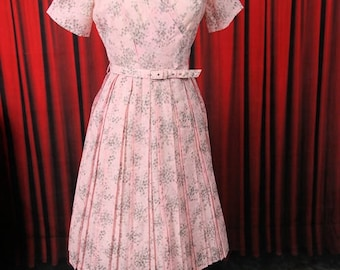 Fairy floss pink cotton Vintage Dress