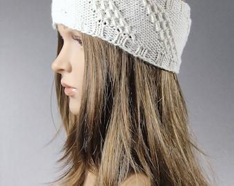Knit ear warmer, cable headband, chunky knit head wrap, knit earwarmer,knit headband, gray knit headband, white knit headband, blue headband
