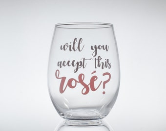 Will You Accept This Rose? -- Bachelor -- Bachelorette -- ABC Bachelor -- Rose Ceremony -- Wine Glass