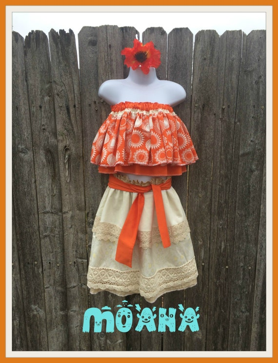 Disney Moana Tween Girls Dress