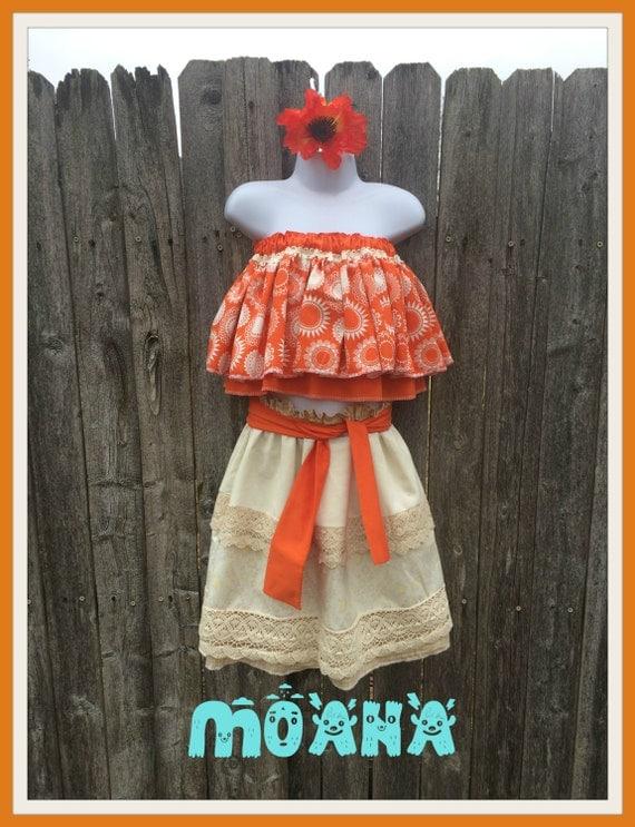 Disney Moana Tween Girls Dress