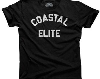 Coastal Elite Anti Trump Shirt - Liberal Shirt Political Shirt Democrat Shirt Democratic Shirt - (See SIZING CHART in Item Details)