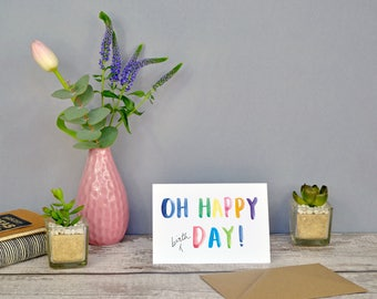 Oh Happy Day! | Birthday Card