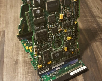 Upcycled Circuit Board Tablet or Phone Stand Father's Day Gift