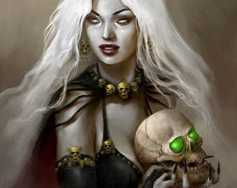 Lady Death Print Poster
