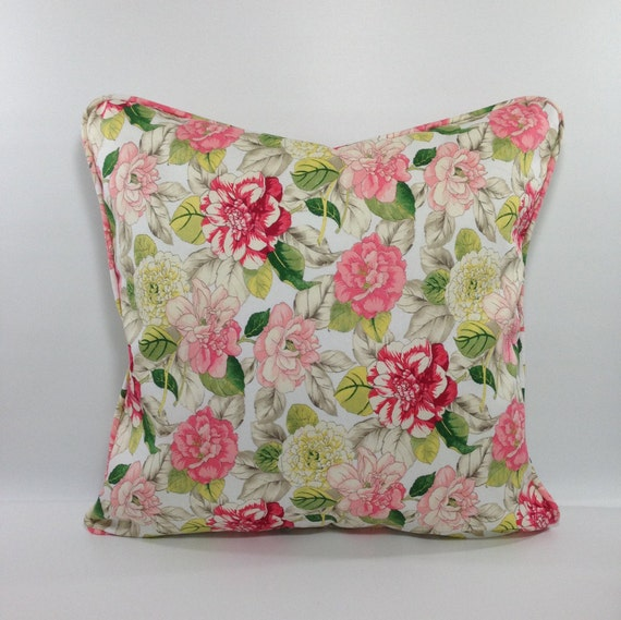 Shabby Chic Pillow CoverShabby Chic Floral Pillow