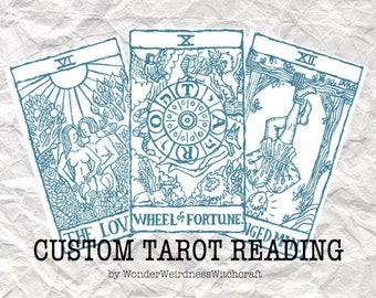Customised Tarot Readings
