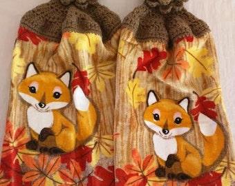 Crochet Kitchen Towels, Set of 2