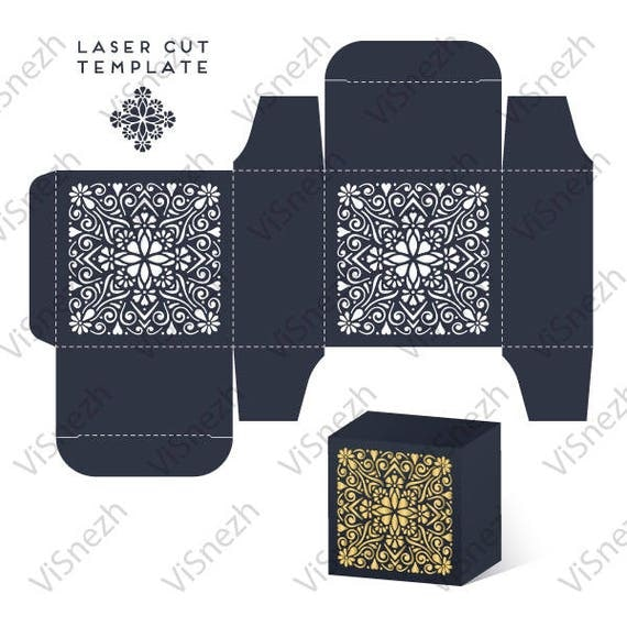 laser cut box template wedding decoration eps svg dxf. Black Bedroom Furniture Sets. Home Design Ideas