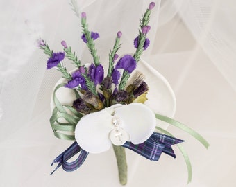 Groom's Personalised Buttonhole