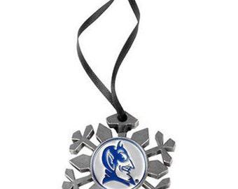 Duke Blue Devils Snowflake Ornament