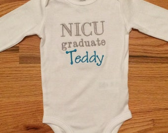 NICU Graduate Onesie