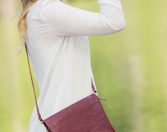 Crossbody Purse Personalized Crossbody Purse Monogrammed Purse gifts for her Wine Crossbody Purse