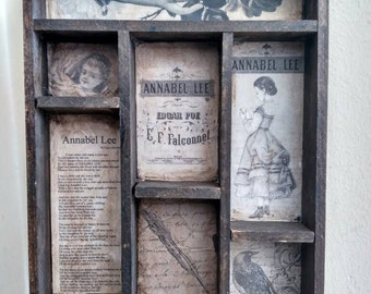 Annabel Lee cabinet of curiosities