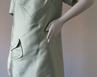 Vintage Mod Space Age Shift Dress by Piccione Made in Italy