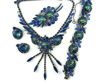 Juliana Blue Margarita Grand Parure