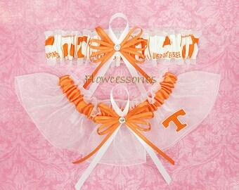 Pick Charm - University of Tennessee Volunteers - UTK - UT - UT Knoxville handmade bridal wedding garters - keepsake garter set