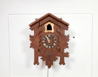 Cuckoo Clock for Parts or Repurpose Project, German Cuckoo Clock, Cuckoo Clock MFG CO