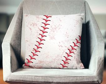 Baseball Decor | Baseball Gifts | Baseball Cushion | Baseball Pillow | Baseball Pillowcase | Baseball Cushion | Baseball Throw Pillow
