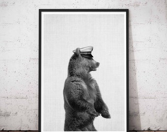 Nursery, Mama Bear, Baby Room Woodland, Woodland Prints Bear, Kids Bear Art Print, Kids Room Bear, Baby Bear Printable, Bear Kids Room Art
