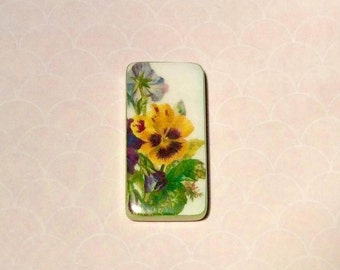 Needle minder, needleminders, nanny, keeper, magnetic, cross stitch, crossstitch, needlepoint, sewing pins, embroidery, crosstitch, pansy