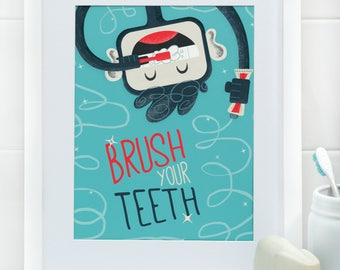 Brush Your Teeth, Myko! in Blueberry