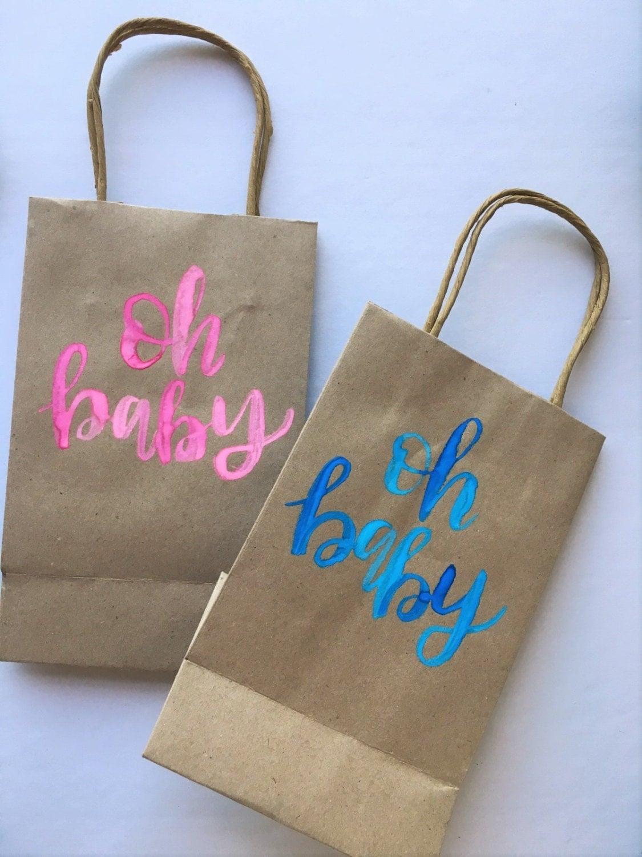 Personalized gift bag custom gift bag kraft bag party bag 350 negle Choice Image