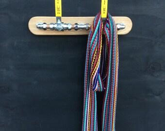 Coat Hook, Coat Hanger, Coat Rack, Wall hook, Towel hook, Industrial, Repurposed, Upcycled, Handmade, Hanger, 4 & 2 Hook + Custom Options