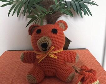 Orange Tubby Bear