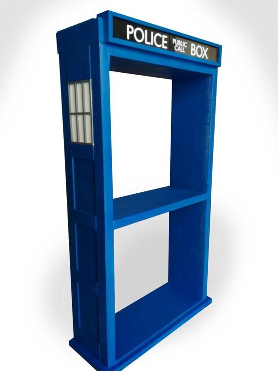 Shelf TARDIS TARDIS, Shelf, Bookshelf, Bookcase, Doctor Who, Furniture,  Nerd, Geek, Police Box