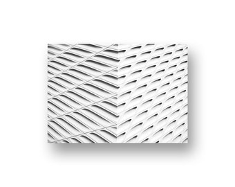 Urban Geometry Print, Modern Architecture, Black White Photography, Asymmetry Print, Buildings Prints, White Texture Prints, Minimalist Art