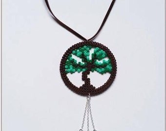 """Nature Collection"" tree of life necklace"