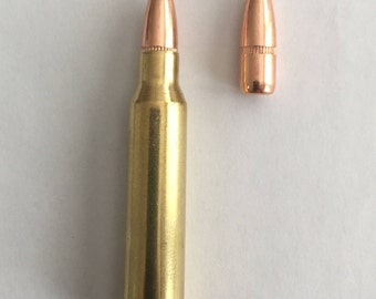 Bullet Jewelry Supplies .223 Remington (set of 100 rounds) Dummy Rounds FMJ Replica Rifle Bullet Supply Ammo Art Earrings Keychain Necklace