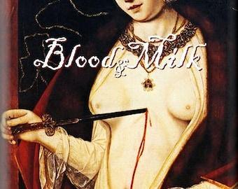 BLOOD & MILK | Perfume Oil | Scentual Memories