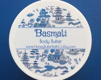 Basmati | Body Butter | Lotion | Cream | Vanilla | Floral | Cedar | Powder | Spice | Lemon | Fruit | Unique | Birthday | Gift | Mom | Wood |