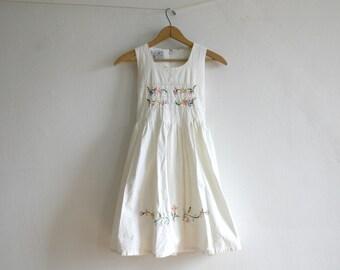 Ivory Pastel Floral Dress 8