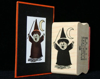 littlest witch rubber stamp