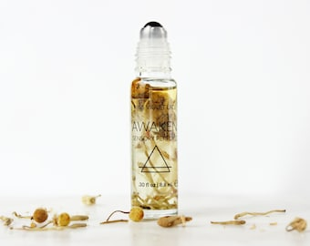 AWAKEN perfume | Sensory Perfume with Chamomile, Jasmine and Citrus | 100% natural and vegan