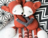 PATTERN - Mystique the Fox - crochet pattern, amigurumi pattern, PDF
