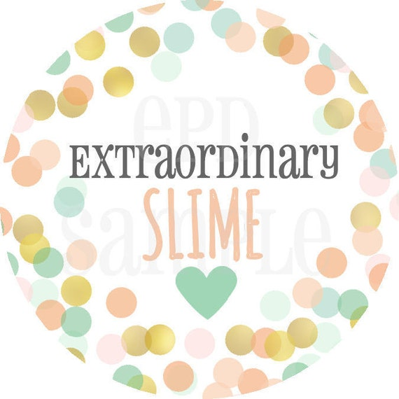 Cool Slime Stickers For Your Slime Personalized Stickers