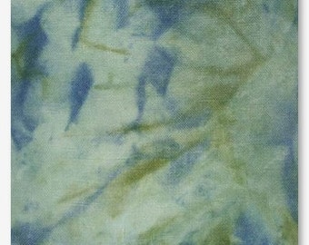 TEMPEST 16 ct. hand-dyed cross stitch fabric Aida Picture This Plus PTP hand embroidery nautical mermaid ocean beach