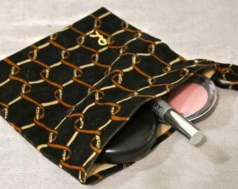 70s Roberta di Camerino Velvet Makeup Bag