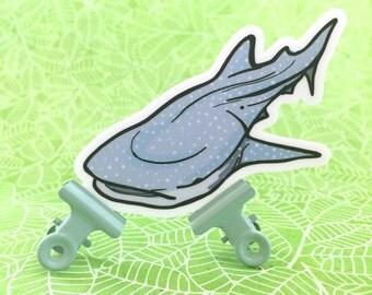 Whale Whale Whale (Shark) Sticker