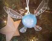 Original Blue Navi, Zelda Style fairy-Small Ornament (led light)