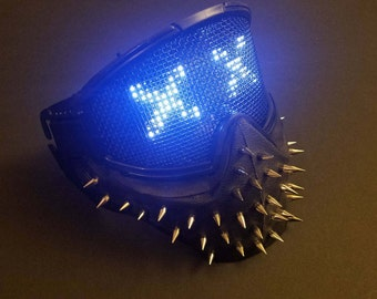 Wrench Inspired LED Mask! Programmable LEDs!