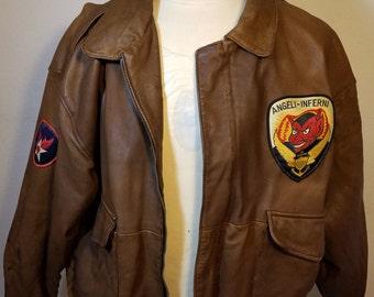 FREE  SHIPPING   Michael  Hoban  Leather  Jacket