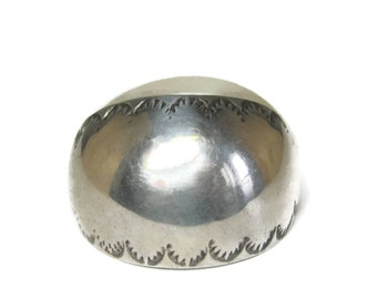 Vintage Sterling Southwestern Ponytail Braid Cover Hair Accessory
