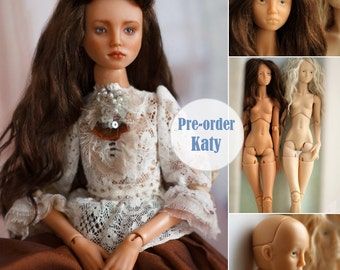 SALE -13% Collectible BJD resin doll art doll mold Katy. Blank ball jointed doll MSD 15 inch