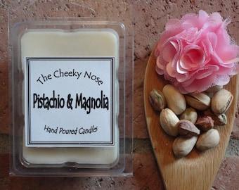 Pistachio Magnolia Wax Melts, Pistachio Melts, Magnolia Melts, Soy Melts, Scented Wax Melts, Soy Wax Melts, Soy Tarts, Scented Soy Tarts