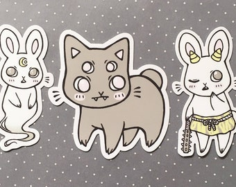 CREEPY CUTIES — vinyl sticker